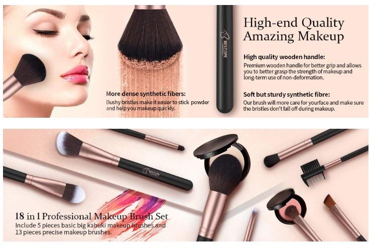 best makeup brushes on amazon,