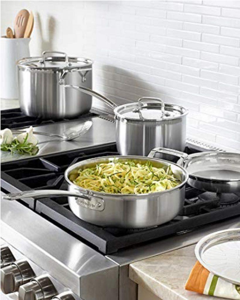 cuisinart multiclad pro vs all clad