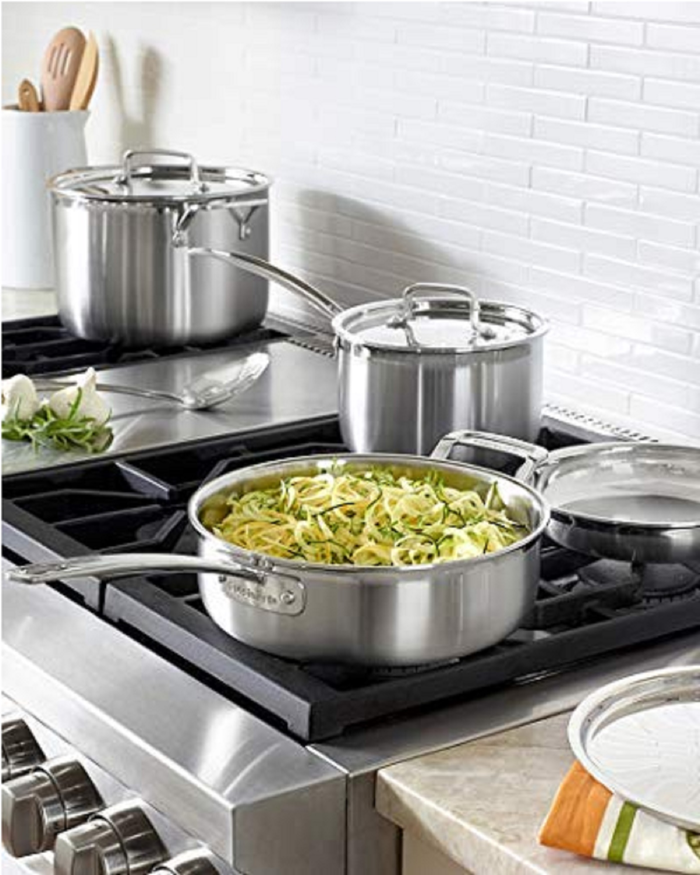 Cuisinart MCP-12N Multiclad Pro Stainless Steel 12-Piece Cookware Set-cuisinart multiclad pro vs all clad