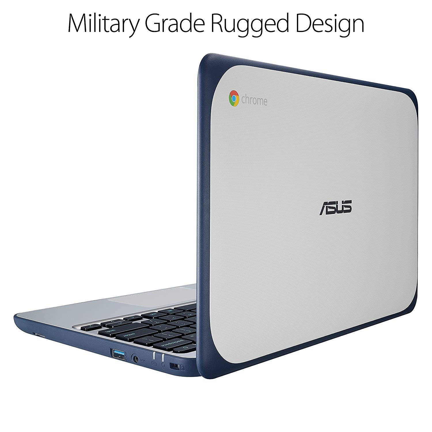 ASUS Chromebook C202SA-YS02 11.6″ Ruggedized and Water Resistant Design with 180 Degree – Best Laptops For College Students Under 500