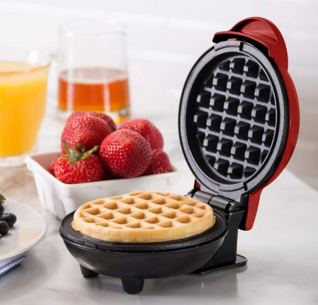 Dash Mini Maker: The Mini Waffle Maker Machine for Individual Waffles – Best Non Stick Pan For Eggs