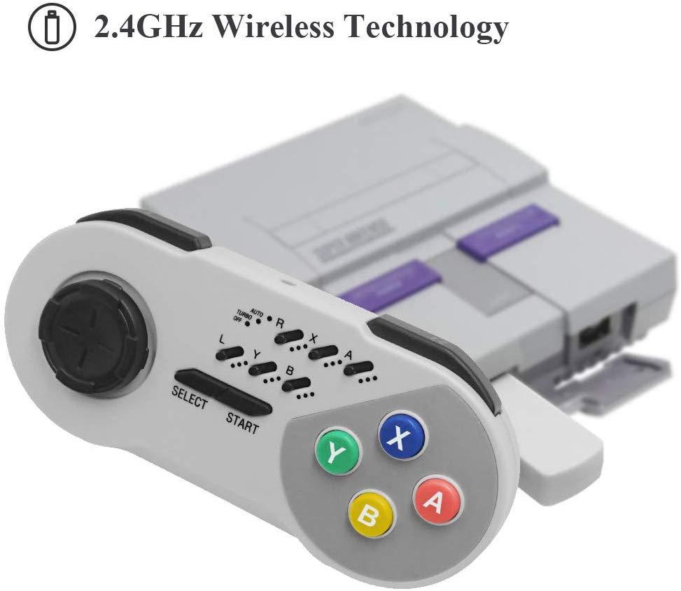 Wireless Controller, Super Nintendo NES Turbo Joystick