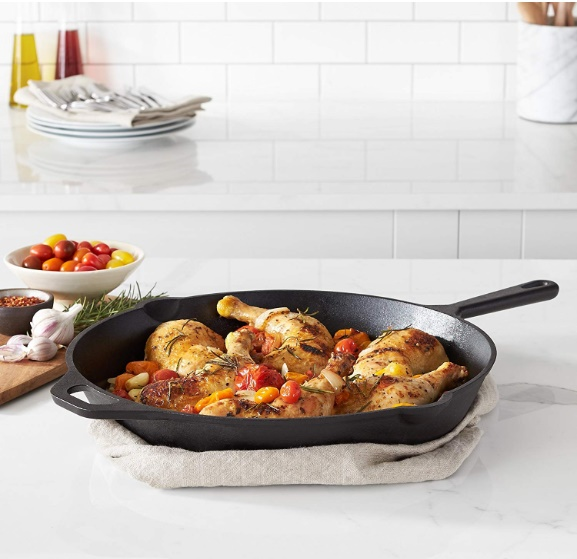 Pre-Seasoned Cast Iron Skillet