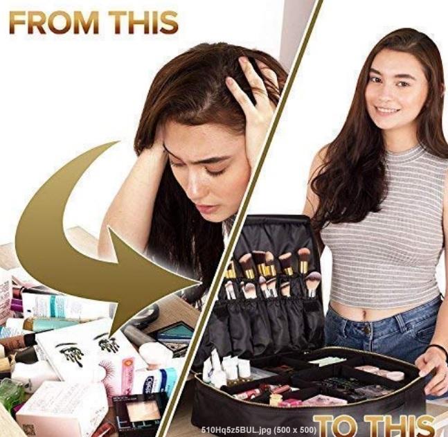 big makeup organizer