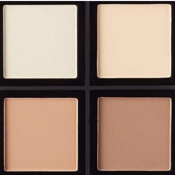 Cosmetics Contour Makeup Palette Set for Sculpting, Shading and Brightening Your Skin – Beauty Glazed Eyeshadow Palette