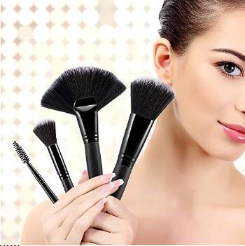 rose gold makeup brush holder